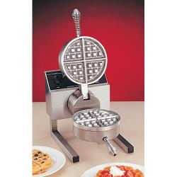 Nemco - 7020A-S - Belgian Waffle Bakers with Removable Silverstone Plates image