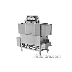 CMA Dishmachines - EST-44H/R-L - High Temp 44 in 243 Racks Per Hour Right To Left Conveyor Dishwasher image