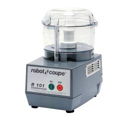 Robot Coupe - R101 B CLR - Commercial Food Processor w/ 2.5 Qt Clear Bowl image