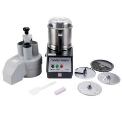 Robot Coupe - R301 ULTRA DICE - Commercial Food Processor w/ 3.5 Qt Bowl, Continuous Feed & Dice Kit image