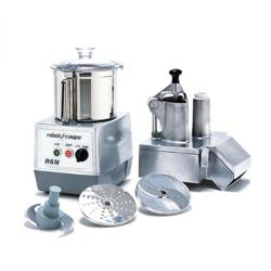 Robot Coupe - R602 - Commercial Food Processor w/ 7 Qt Bowl & Continuous Feed image