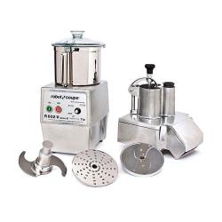 Robot Coupe - R602V - Commercial Food Processor w/ 7 Qt Bowl & Continuous Feed image