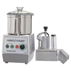 Robot Coupe - R602VV - Commercial Food Processor w/ 7 Qt Bowl & Continuous Feed image