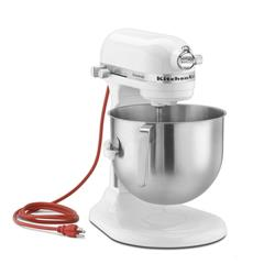KitchenAid Commercial - KSM8990WH - 8 qt White Commerical Stand Mixer image