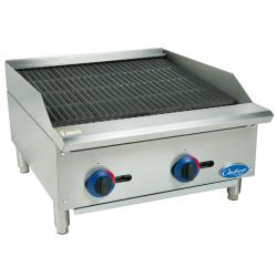 Globe - C24CB-SR - 24 in Chefmate™ Gas Charbroiler image
