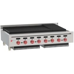 Wolf - ACB47 - 47 in Countertop Charbroiler w/ 8 Burners image