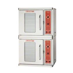 Blodgett - CTBR Double - Electric Half Size Double Deck Convection Oven - RH Hinge image