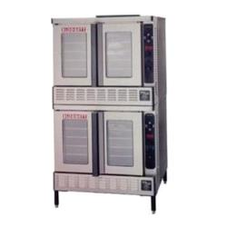 Blodgett - DFG-200-ES - DOUBLE - Gas Double Deck Bakery Depth Convection Oven image