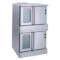 Blodgett - SHO-100-G Double - Gas Double Deck Standard Depth Convection Oven image