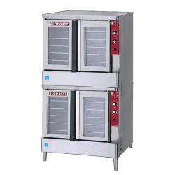 Blodgett - Zephaire-200-G Double - Zephaire Gas Double Deck Bakery Depth Convection Oven image