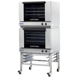 Moffat - E28M4-P/2C - 208V Double 4-Full-Pan Convection Oven w/ Casters image