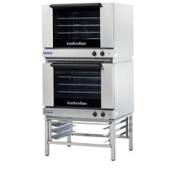 Moffat - E28M4-T/2 - 220V Double 4-Full-Pan Convection Oven image