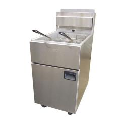 Anets - SLG100 - SilverLine 100 lb Commercial Gas Fryer image