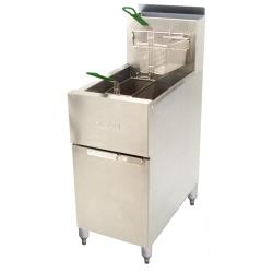 Dean - SR152G - Super Runner 50 Lb Commercial Gas Fryer image