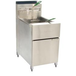 Dean - SR162G - Super Runner 75 Lb Commercial Gas Fryer image