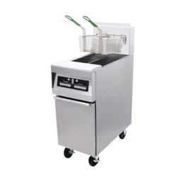 Frymaster - MJ45-SD - 50 lb Stainless and Enamel Gas Fryer image