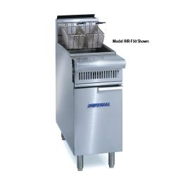 "Imperial - IHR-F2525 - Diamond Series 25""/25"" Split Top Fryer image"