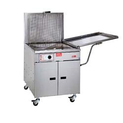 Pitco - 24FM - 150 Lb Gas Chicken & Fish Fryer w/ Mechanical Thermostat image