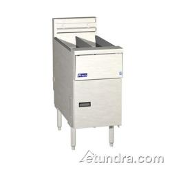 Pitco - SE14TXSSTC - Solstice Twin 25 Lb Electric Fryer image
