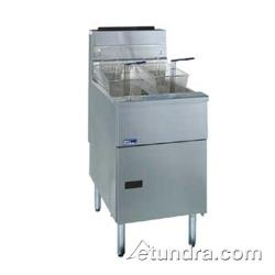 Pitco - SG18-SS - Solstice Standard Stainless Steel 90 Lb Gas Fryer image