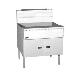 Pitco - SGM18X24SSTC - Megafry 110 Lb Gas Fryer w/ Solid State Controller image