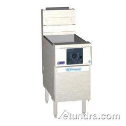 Pitco - SSH75R-SSTC - Solstice Supreme High Production 75 Lb Gas Fryer w/ Solid State Controller image