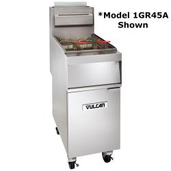 Vulcan - 1GR85M - 85 lb Natural Gas Fryer image