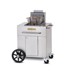 Crown Verity - CV-PF-1 - Portable Outdoor Fryer w/ Single Tank image