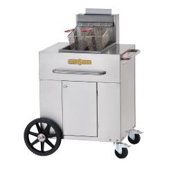 Crown Verity - CV-PF-1NG - 40 lb Single Tank Outdoor Fryer image