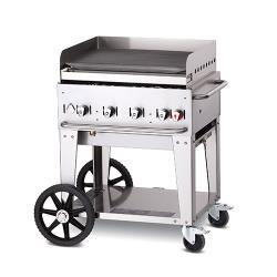 Crown Verity - CV-MG-30NG - Mobile 30 in NG Griddle image