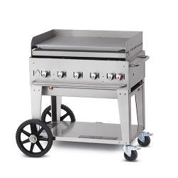 Crown Verity - CV-MG-36NG - Mobile 36 in NG Griddle image