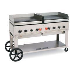 "Crown Verity - CV-MG-60 - Mobile 60"" LP Griddle image"