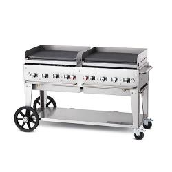 "Crown Verity - MG-60NG - Mobile 60"" NG Griddle image"