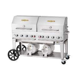Crown Verity - CV-CCB-60RDP - 58 in X 21 in Outdoor Propane Club Grill image
