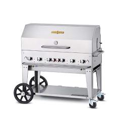 Crown Verity - CV-MCB-48RDP-LP - 48 in Mobile LP Outdoor Charbroiler image