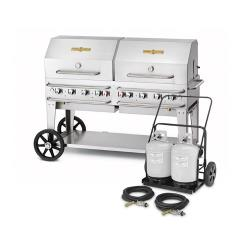 Crown Verity - CV-MCC-60RDP - 58 in X 21 in Mobile Propane Grill image