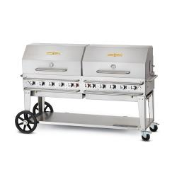 Crown Verity - CV-MCC-72RDP - 70 in X 21 in Mobile Propane Grill image