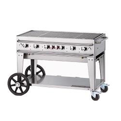 Crown Verity - CV-RCB-48-SI-BULK - 48 in Pro Series LP Outdoor Grill image