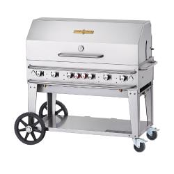 Crown Verity - CV-RCB-48RDP-SI-BULK - 48 in Pro Series LP Outdoor Grill W/ Roll Domes image
