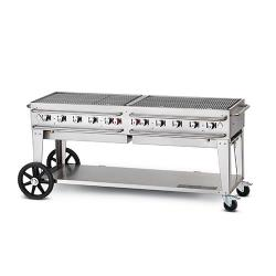 Crown Verity - CV-RCB-72 - 72 in Double Inlet Outdoor Charbroiler image