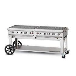 Crown Verity - CV-RCB-72-SI - 72 in Single Inlet Outdoor Charbroiler image