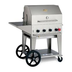 Crown Verity - MCB-30PKG-LP - Mobile 30 in Liquid Propane Charbroiler With Accessories image