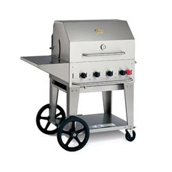 Crown Verity - MCB-36PKG-LP - Mobile 36 in Liquid Propane Charbroiler With Accessories image