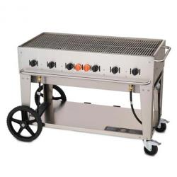 Crown Verity - MCB-48-LP - Mobile 48 in Liquid Propane Charbroiler image