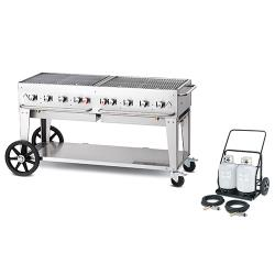 Crown Verity - MCC-60 - Mobile 60 in Charbroiler With Tank Cart image
