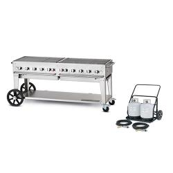 Crown Verity - MCC-72 - Mobile 72 in Charbroiler With Tank Cart image