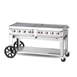 Crown Verity - RCB-60-SI - 60 in Single Inlet Outdoor Charbroiler image