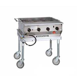 MagiKitch'n - LPG-30-SS - 30 in Magicater S/S Portable Outdoor LP Charbroiler image