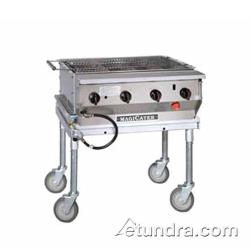 MagiKitch'n - NPG-30-SS - 30 in Magicater Stainless Steel Portable Outdoor Gas Charbroiler image