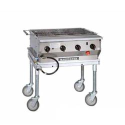 MagiKitch'n - NPG-30-SS - 30 in Magicater S/S Portable Outdoor Gas Charbroiler image